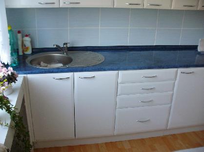 Kuchyně z foliovanými dvířky realizace Hlučín